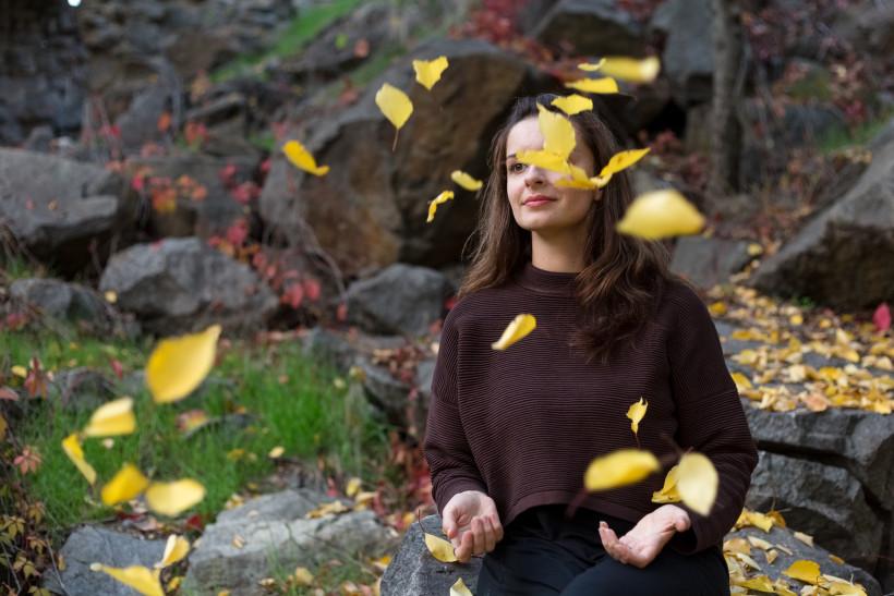 Марина Довбыш - осенняя фотосессия