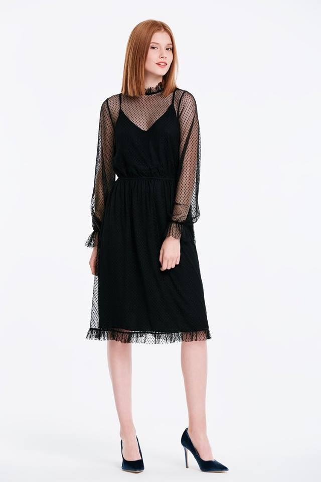 черое платье