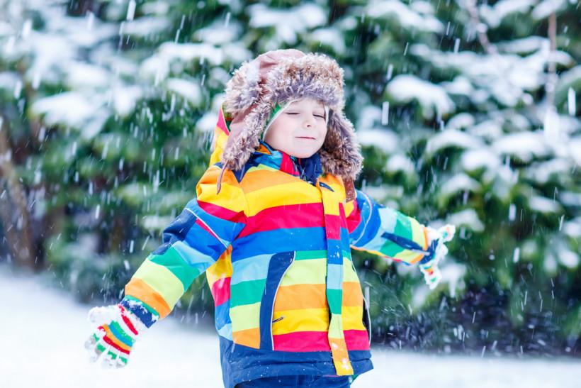 зима, малюк