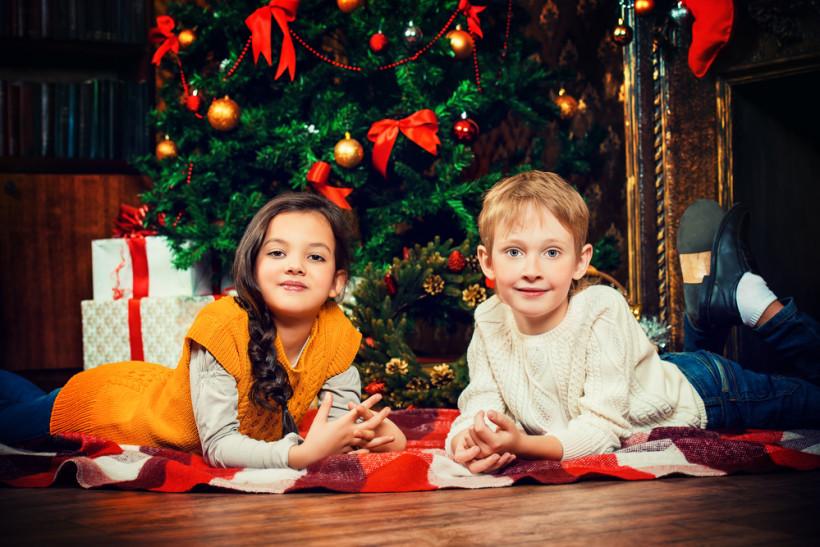 діти новий рік