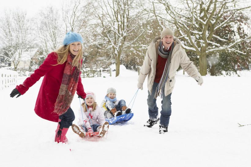 зима, родина