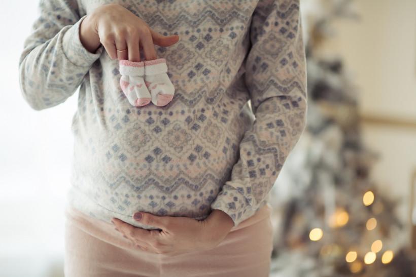 беременная на новый год