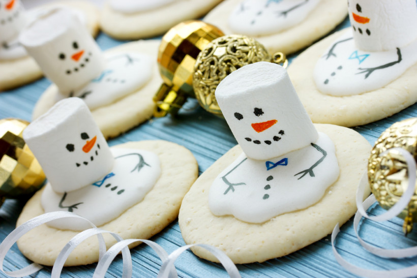 Сладкие снеговики