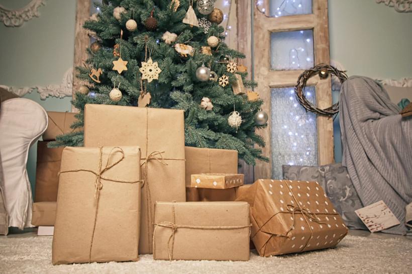 новогодняя елка, декор новогодней елки, новый год 2018