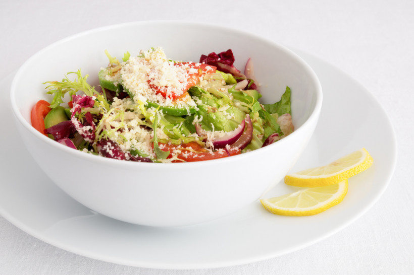 Итальянский салат с радиккио