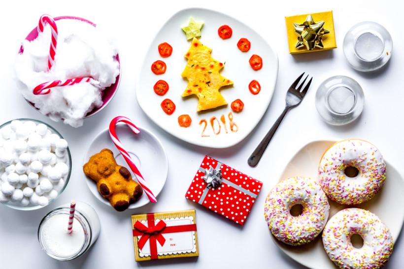 новый год сладости