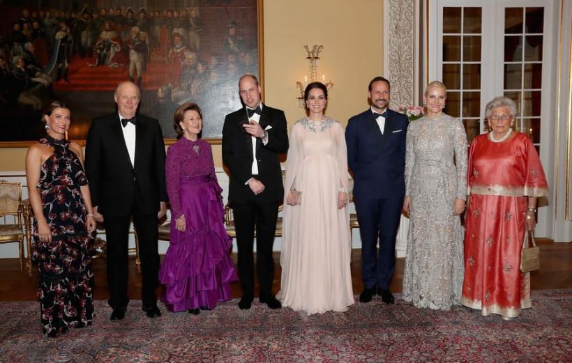 Кейт Миддлтон и принц Уильям в Осло