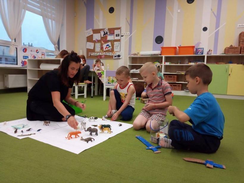 Олеся Яскевич и занятия с детьми с инвалидностью