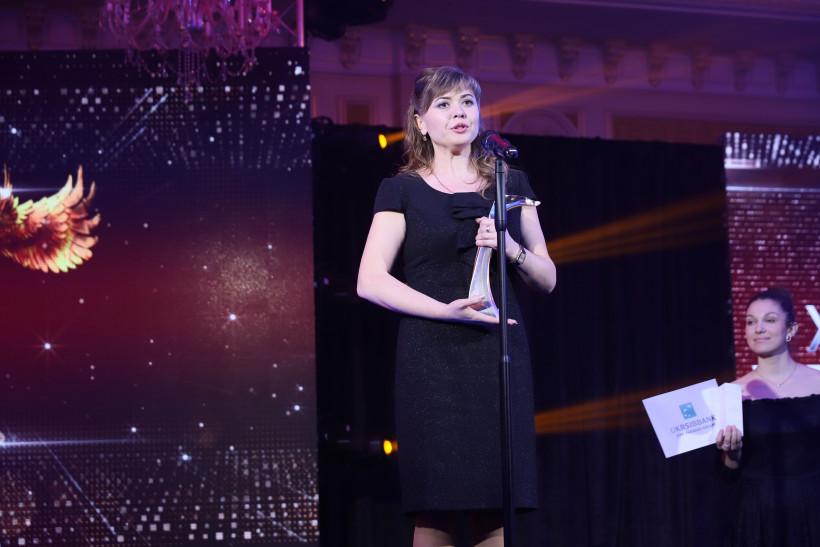 Ольга Войникова - победительница категории Натхнення