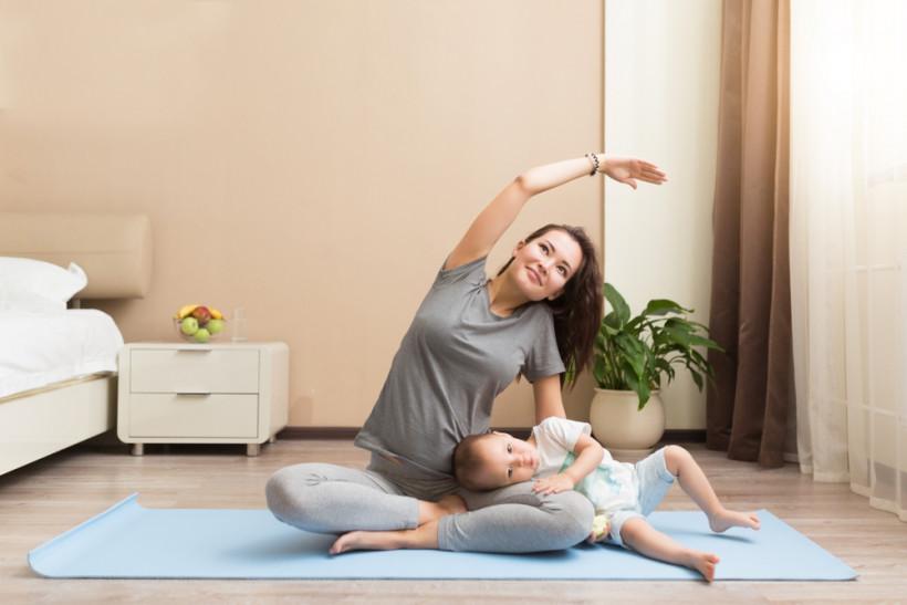 мама с ребенком медитация