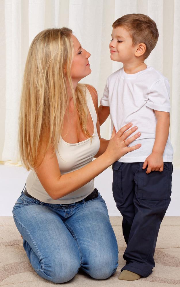 мама і син