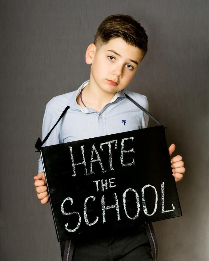 Мальчик с дислексией