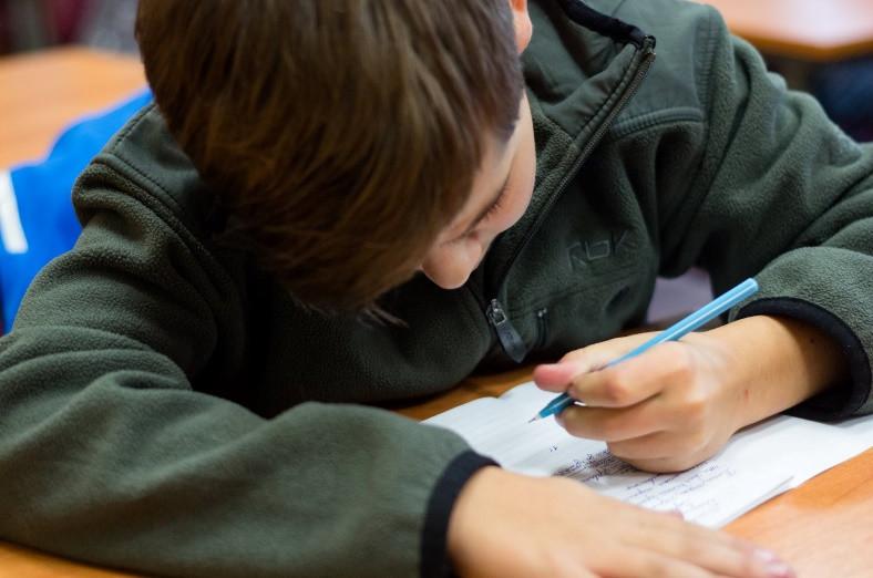 Малюжонок - мальчик с дислексией