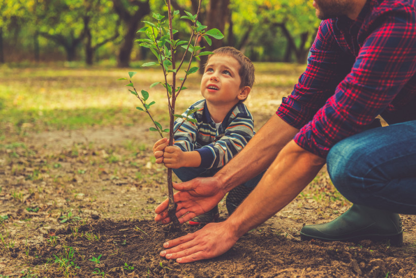 ребенок и природа