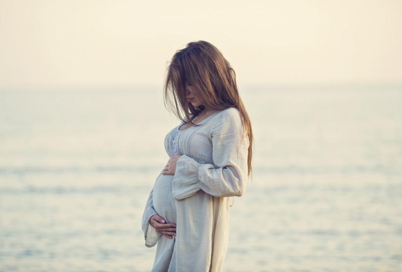беременная красивая