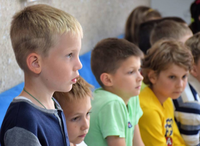 Дети из школы ЛИКО