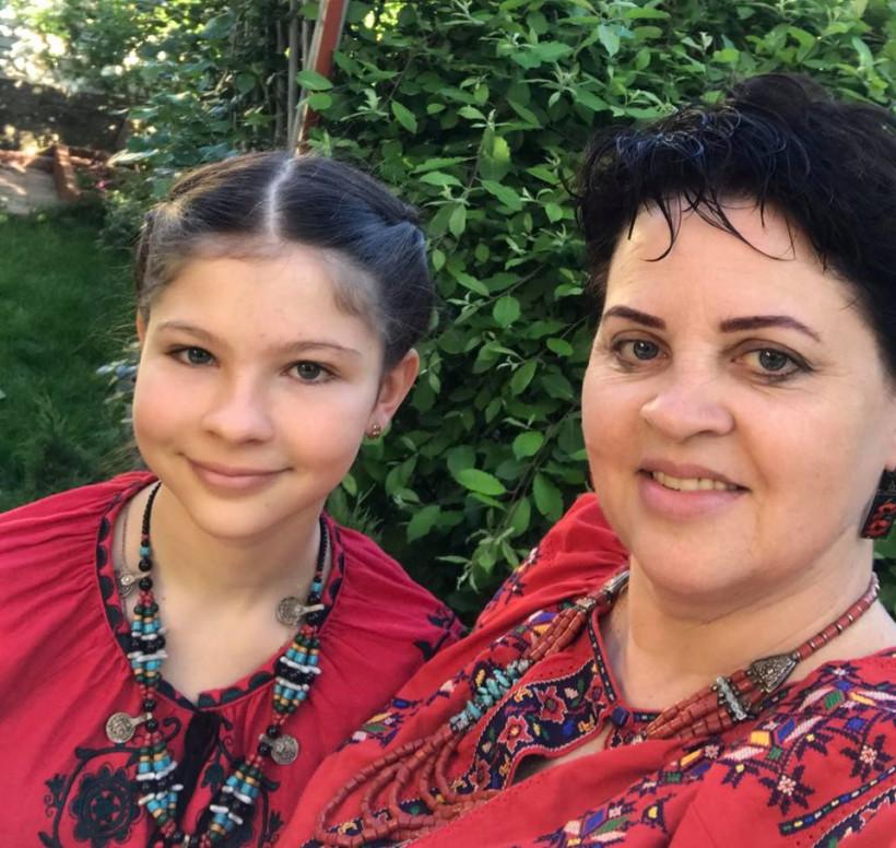 Лікар-гінеколог Тетяна Попова та її донька Ліза