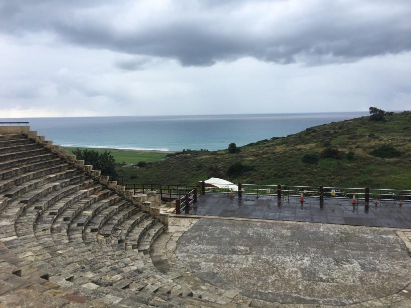 Римский театр в Курионе на Кипре