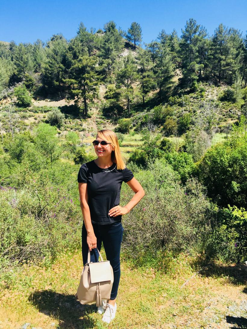 Горы Троодос на Кипре и Марина Плотникова