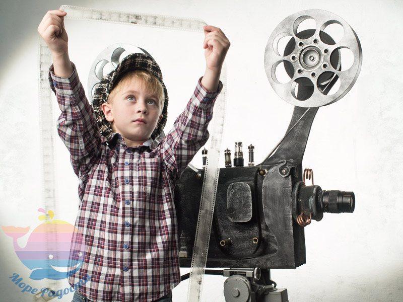Снимаем кино - развивающее занятие в Киеве