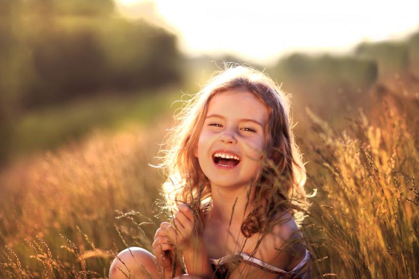 девочка на природе