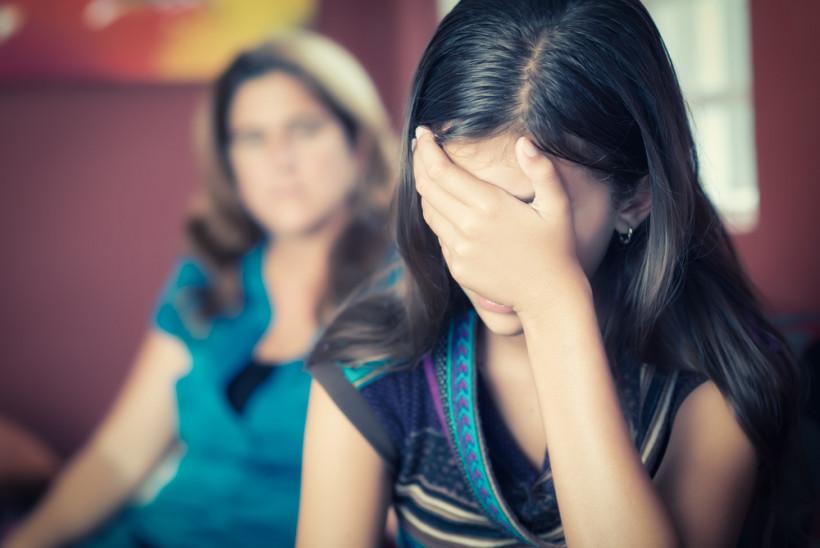 Ссора мамы и подростка