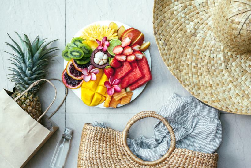 фрукты лето