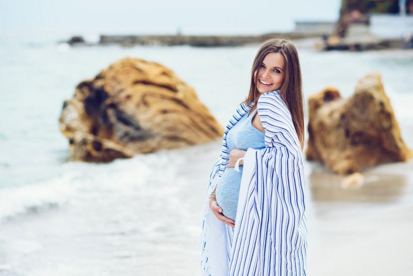 вагітна літо