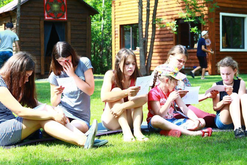 діти табір