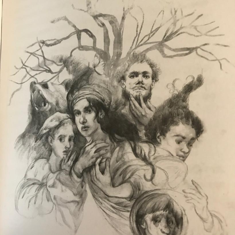 Иллюстрация к книге Дрімучий ліс