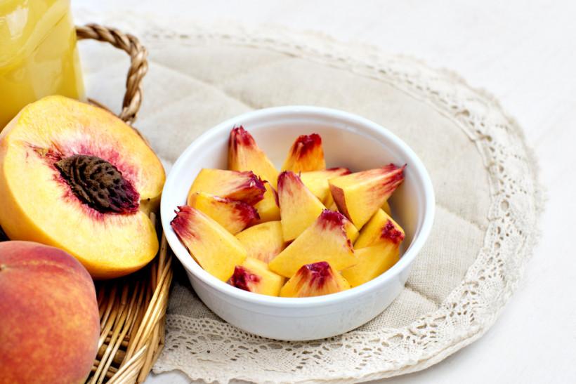 Персиковые чипсы