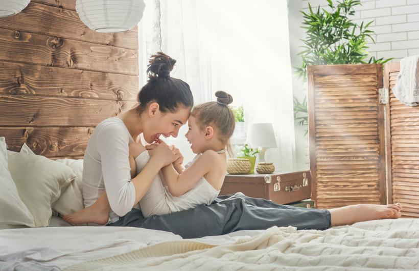 Мама и дочь - воспитание послушания
