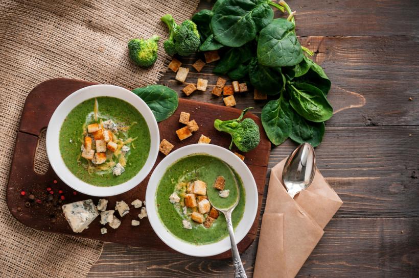 Крем-суп зі шпинату