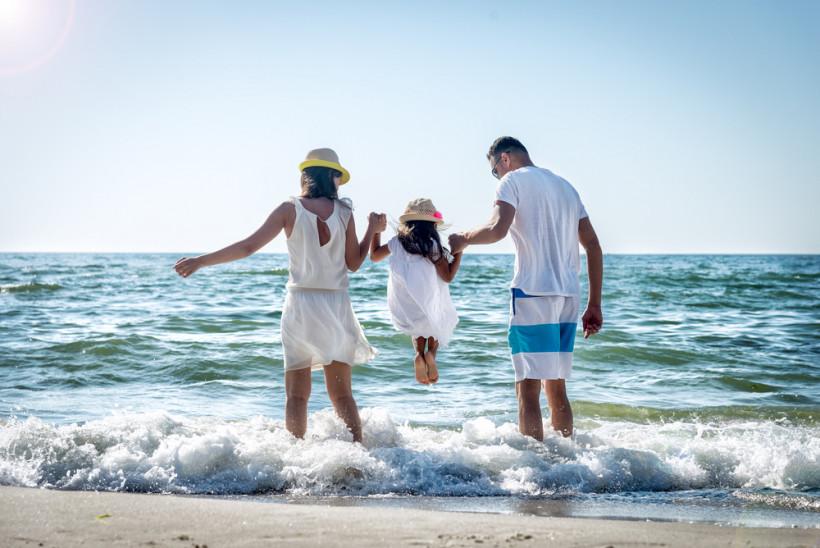 лето семья