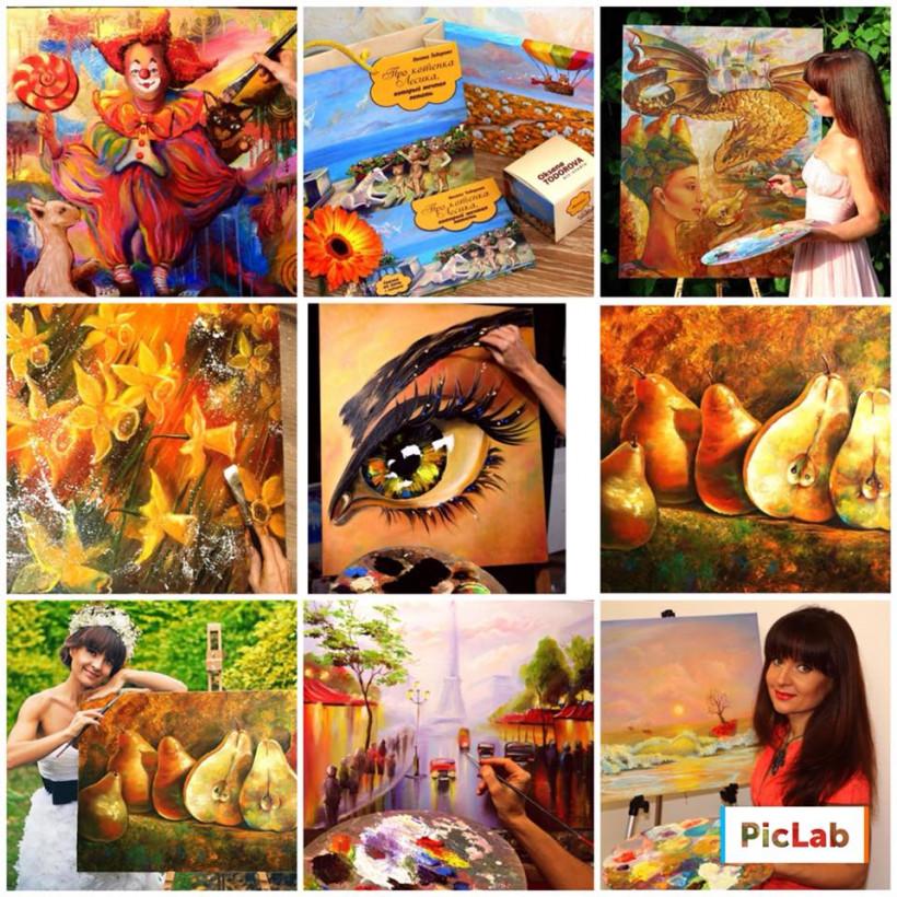 Картины Оксаны Тодоровой