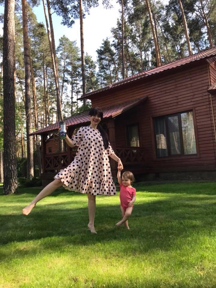 Тодорова с дочерью