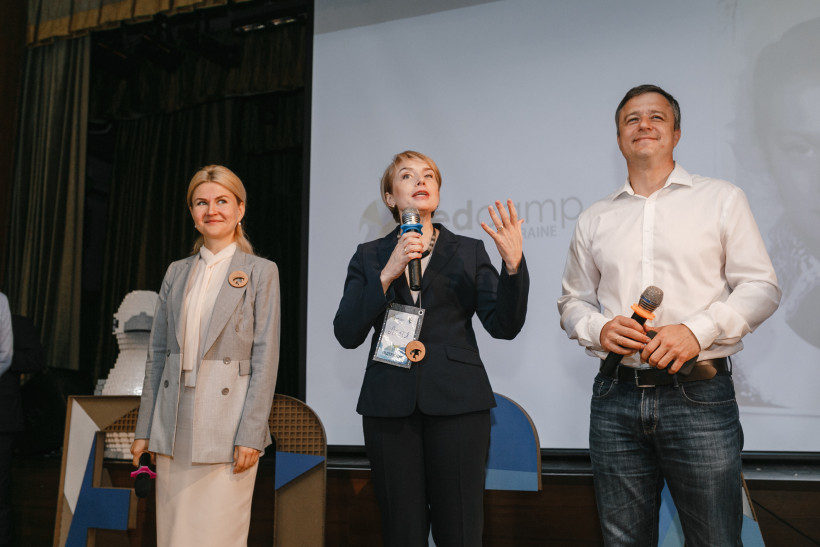 Лилия Гриневич, Николай Кулеба на Едкемп Украины