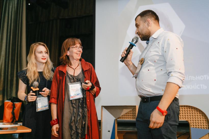 Маргарет Расфельд и Олександр Елькін