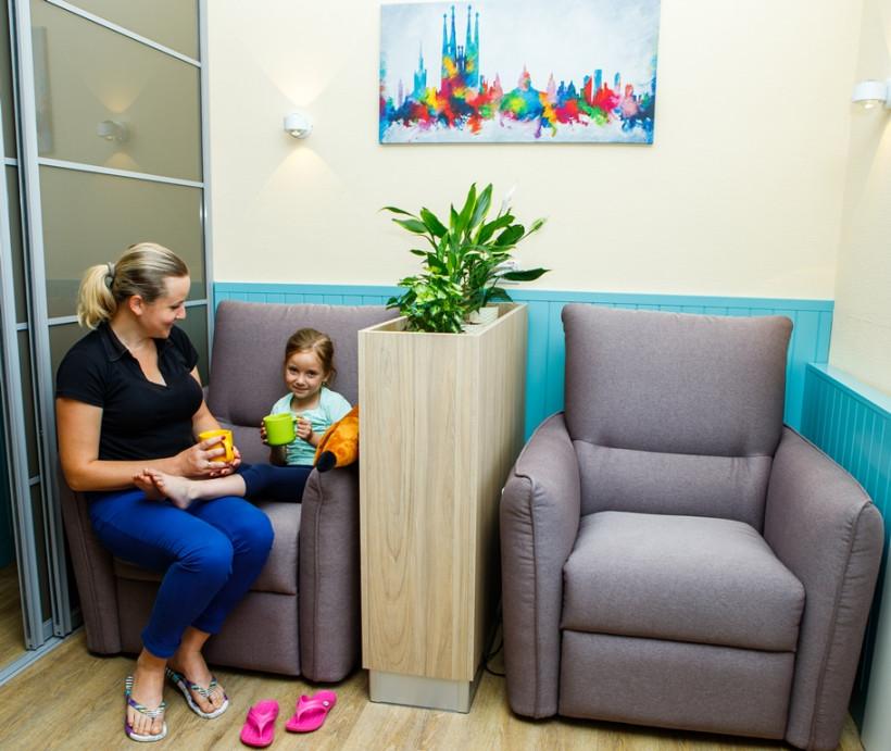 Семейная комната в Винницкой больнице