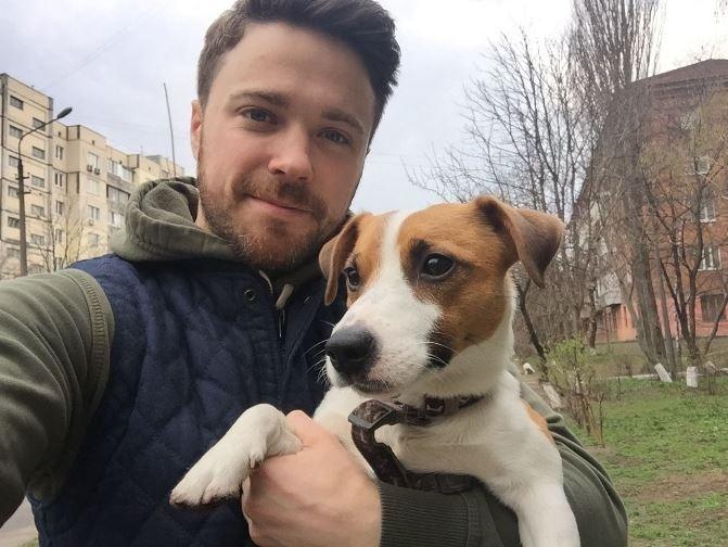Собака Александра Попова