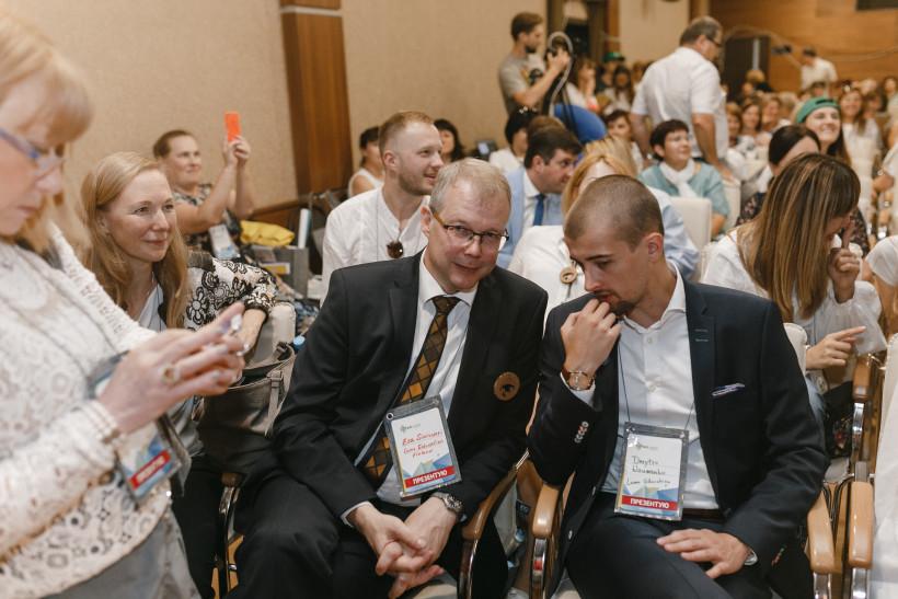 Еса Сінівуорі і Каісу Хельмінен та Дмитро Науменко на ЕдКемп