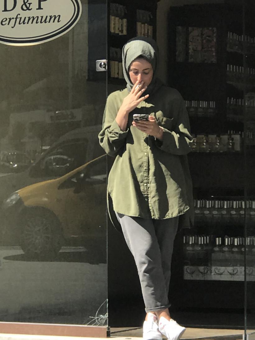 Девушка в Стамбуле