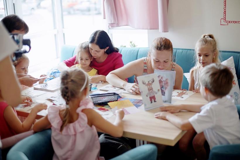 Родители и дети - встреча  участниц чата для мам