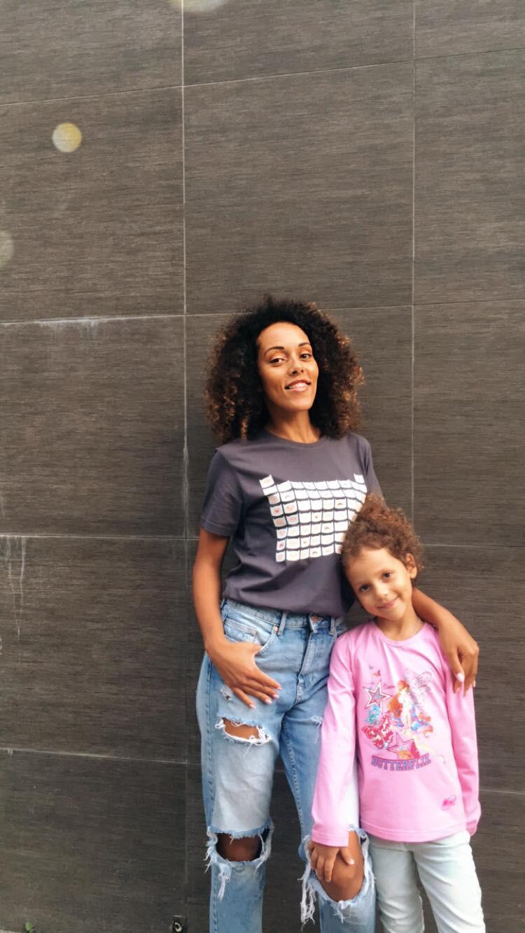 ЛадаТэсфайе с дочкой - мысли о креативности и о #часпригод