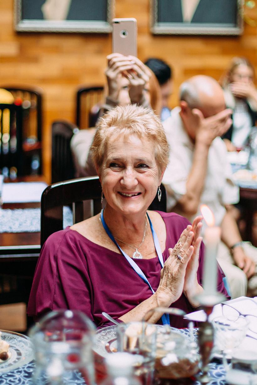 Марджори Браун и жюри Global Teacher Prize 2018