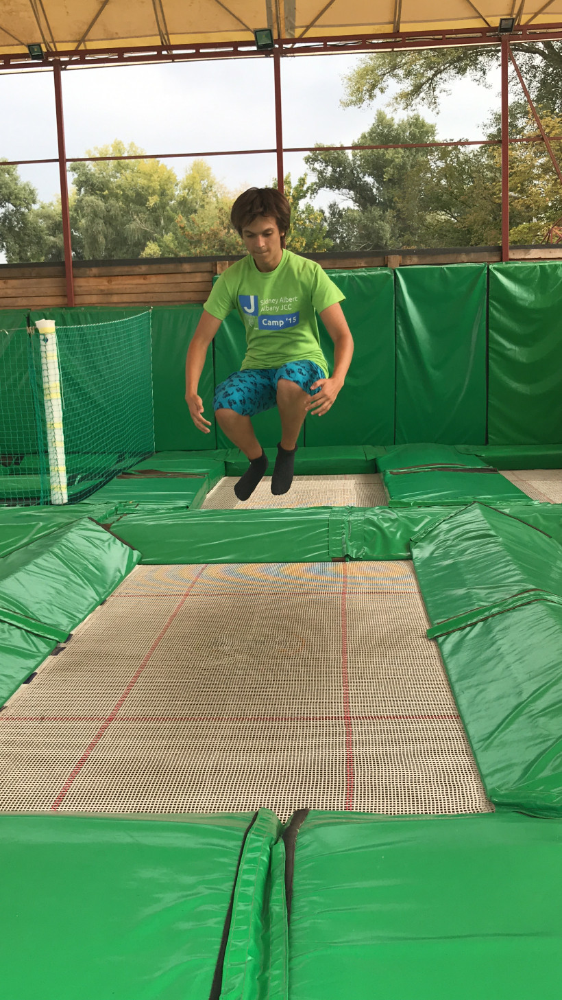 Прыжки на батути