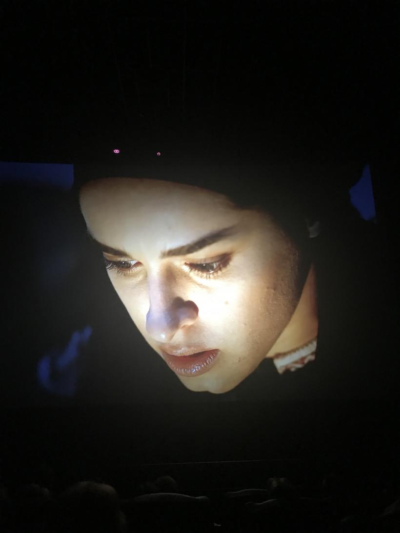 Кадр из фильма чорный казак - Ганна