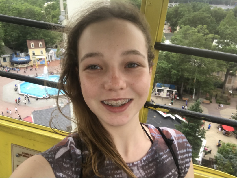 Старшая дочь американки с украинскими корнями Юлии Оконнел