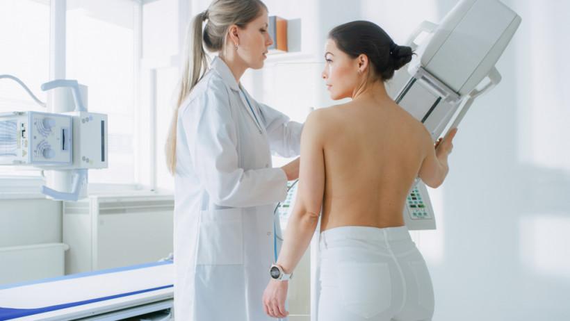 Рак груди - обследование - маммография