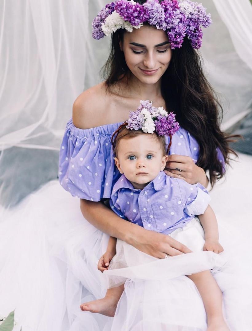 Блогер Анна Солодовникова и ее дочь